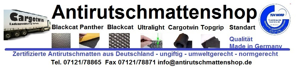 Antirutschmatten Shop | Blackcat Antirutschmatten